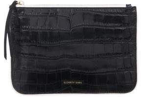 Elizabeth and James Embossed Leather Clutch