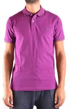 Harmont & Blaine Men's Purple Cotton Polo Shirt.