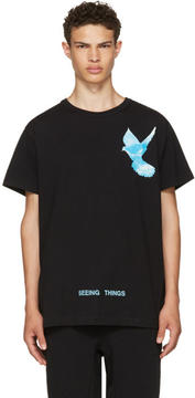 Off-White Black Not Real Dove T-Shirt