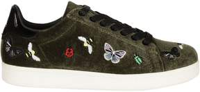Moa Butterfly Patch Sneakers