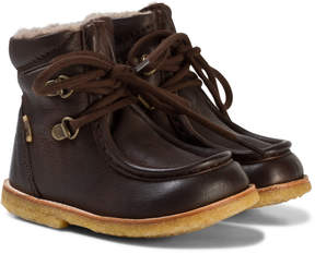 Bisgaard Brown Lace-Up Boots