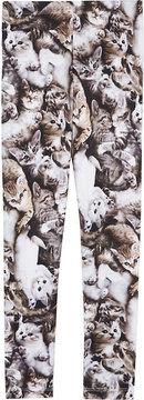 Molo Graphic-print cotton-blend leggings 4-14 years