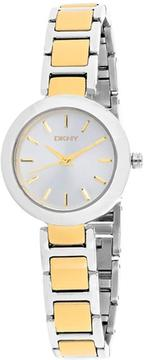 DKNY Stanhope NY2401 Women's Two-Tone Stainless Steel Watch