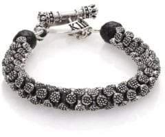 King Baby Studio Sterling Silver Stingray Bracelet
