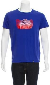 Marc Jacobs Logo Hot Dog Print T-Shirt