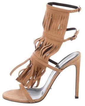 Gucci Becky Fringe Sandals