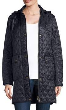Barbour Hooded Quilted Coat