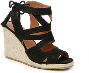 Qupid Jello Espadrille Wedge Sandal - Women's