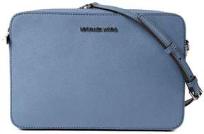 Michael Kors Large Jet Set Shoulder Bag - BLUE - STYLE