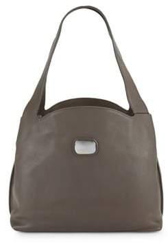 Donna Karan Abbie Leather Hobo Bag
