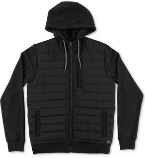 O'Neill Men's Shibuya Quilted Zip-Front Hoodie