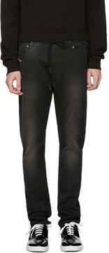 Diesel Black Krookley-Ne Jogg Jeans