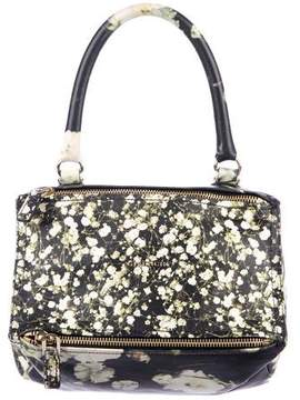 Givenchy Small Floral Pandora Satchel