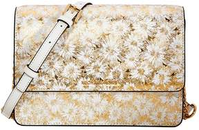 Michael Kors Large Metallic Floral Crossbody Bag - Opt/ Gold - ONE COLOR - STYLE
