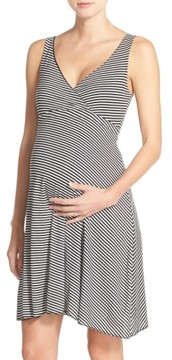 Belabumbum Women's Reversible Nursing Dress