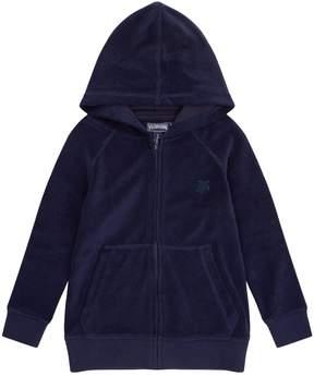 Vilebrequin Terry Cloth Zip Up Hoodie