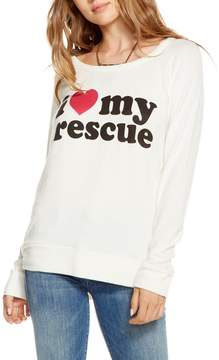 Chaser I Love My Rescue Long-Sleeve Tee