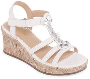 Arizona Daphne Girls Wedge Sandals - Little Kids/Big Kids
