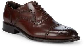 To Boot Men's Hanover Cap Toe Leather Derby Shoes