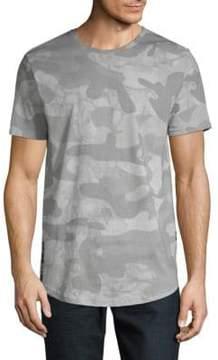 ProjekRaw Camouflage Crewneck Cotton Jersey Tee