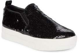 Steve Madden Evann Blush Sequin Sneakers