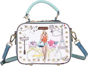 Nicole Lee Spring Ride Print Mini Cross Body Bag (Women's)
