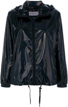 CK Calvin Klein drawstring hooded coat