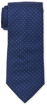Altea Grid Dot Silk Tie