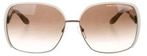Marc by Marc Jacobs Oversize Logo Sunglasses