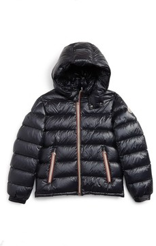 Moncler Boy's New Gaston Hooded Water Resistant Down Jacket