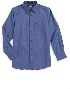 Nordstrom Boy's Patriot Cotton Poplin Dress Shirt