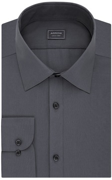 Arrow Men's Slim-Fit Poplin Wrinkle-Free Dress Shirt