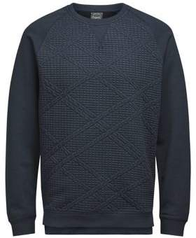 Jack and Jones Regular-Fit Textured Pullover