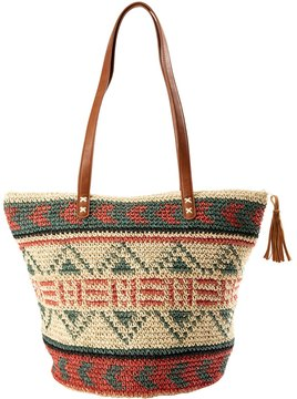 Billabong East of Dover Straw Tote 8163442