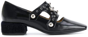 Toga Pulla fur heel loafers