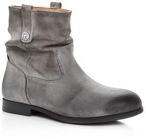 Birkenstock Women's Sarnia Nubuck Leather Slouchy Booties