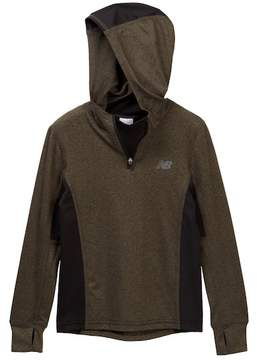 New Balance Hooded Performance Pullover (Big Boys)