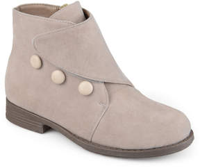 Journee Collection Taupe Rylan Ankle Boot