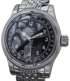 Oris Date Pointer 7543 Stainless Steel Automatic 40mm Mens Watch