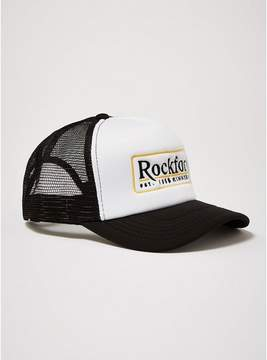 Topman Mens Black 'Rockford' Trucker Cap