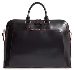 Lodis Audrey Under Lock & Key - Brera Rfid Leather Briefcase - Black