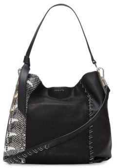 Louise et Cie Melle Leather Shoulder Bag