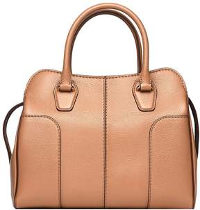 Tod's Sella Handle Bag In Light Tobacco Leather