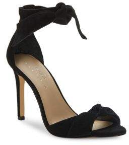 424 Fifth Faye Suede Heels