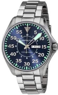 Hamilton Khaki Aviation Blue Dial Men's Watch
