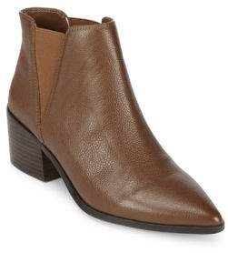Saks Fifth Avenue Rowena Leather Chelsea Boots
