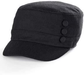 Apt. 9 Women's 3-Button Wool Cadet Hat