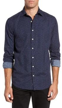 Gant Men's Regular Fit Floral Print Sport Shirt