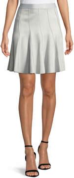 T Tahari Carlisle Flounce Skirt