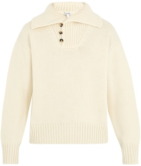 Loewe Shawl-collar wool sweater